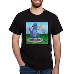T-Rex Shot Put Dark T-Shirt