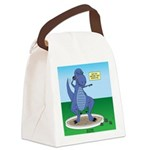 T-Rex Shot Put Canvas Lunch Bag