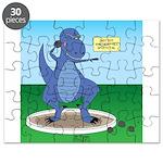 T-Rex Shot Put Puzzle