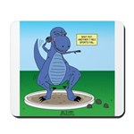 T-Rex Shot Put Mousepad