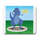 T-Rex Shot Put Mousepad
