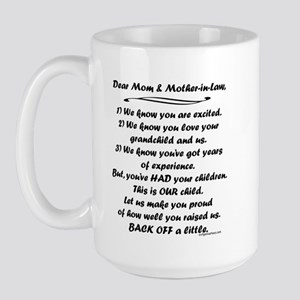 Song to grandmas Large Mug