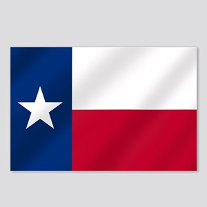 Texas State Flag Postcards (Package of 8)