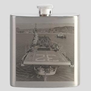 leyte cv framed panel print Flask