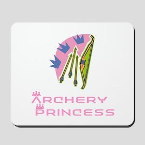 ArcheryChick Princess Mousepad