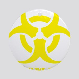 biohazard 2 Round Ornament