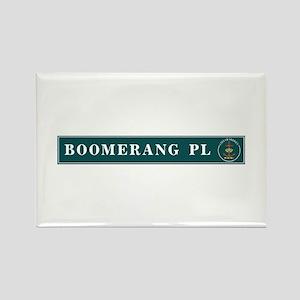 Boomerang Pl., Sydney (AU) Rectangle Magnet