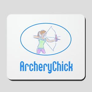 ArcheryChick Logo Mousepad