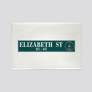 Elizabeth St., Sydney (AU) Rectangle Magnet