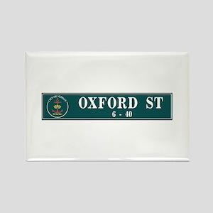 Oxford St., Sydney (AU) Rectangle Magnet