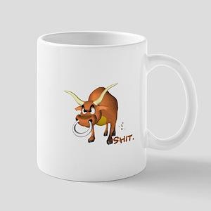 Bull Shit Design Mug