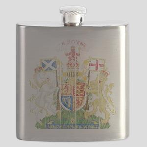Royalthe United Kingdom( Scotland) Coat of A Flask