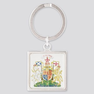 Royalthe United Kingdom( Scotland) Square Keychain