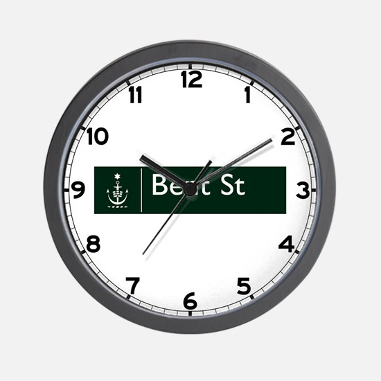 Bent St., Sydney (AU) Wall Clock