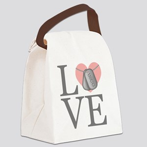 USCG Love Canvas Lunch Bag