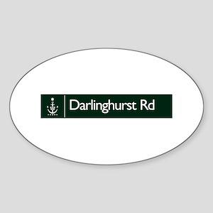Darlinghurst Rd., Sydney (AU) Oval Sticker