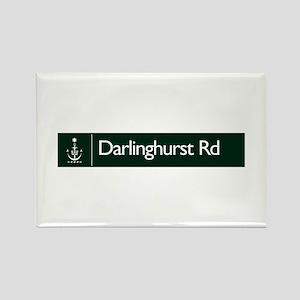 Darlinghurst Rd., Sydney (AU) Rectangle Magnet