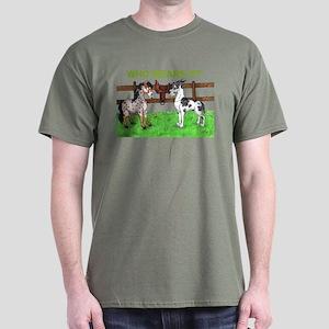 C Mrlqn Who Wears It? Dark T-Shirt