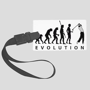 evolution golf Large Luggage Tag
