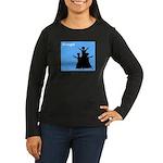 iBhangra Women's Long Sleeve Dark T-Shirt