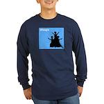iBhangra Long Sleeve Dark T-Shirt