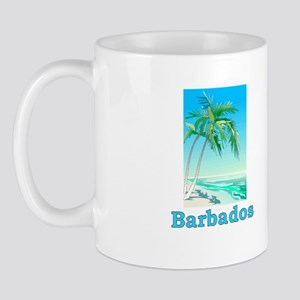 barbadosltblublk Mugs
