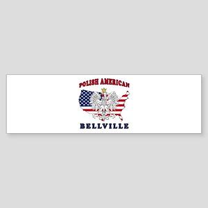 Bellville Texas Polish Sticker (Bumper)