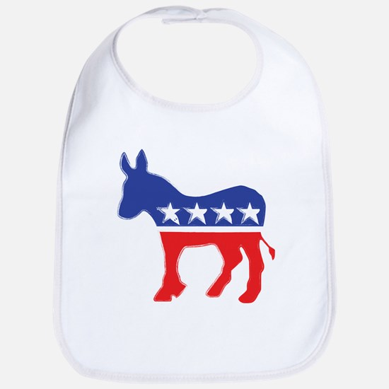 Democratic Donkey Bib
