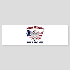 Bremond Texas Polish Sticker (Bumper)
