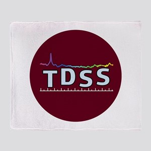 TDSS Logo Throw Blanket
