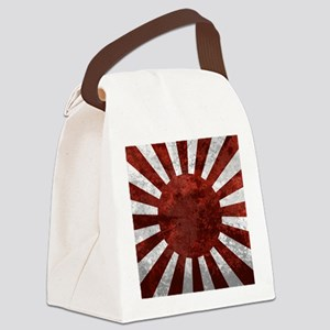 Japanes Land Rising Sun Square Canvas Lunch Bag