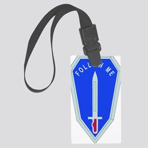 DUI-INFANTRY SCHOOL Large Luggage Tag
