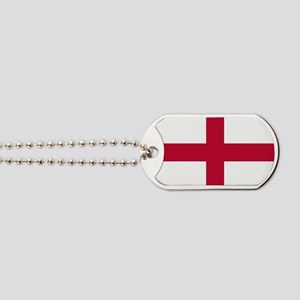 NC English Flag - St. Georges Cross Dog Tags