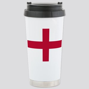 NC English Flag - St. Georges C Stainless Steel Tr