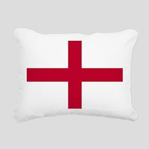 NC English Flag - St. Ge Rectangular Canvas Pillow