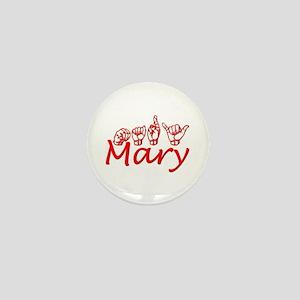 Mary Mini Button