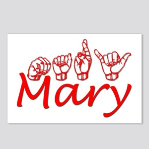 Mary Postcards (Package of 8)
