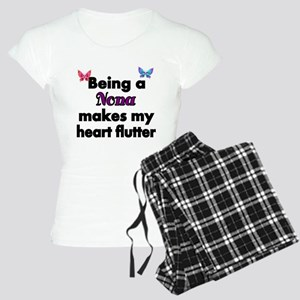 Being a Nona makes my Heart Flutter Pajamas