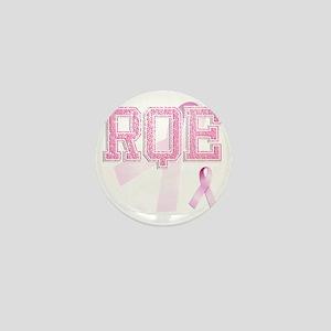 RQE initials, Pink Ribbon, Mini Button