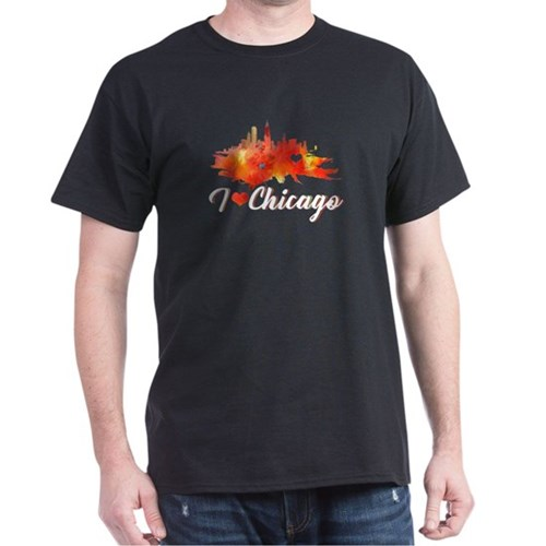 Chicago Shirt - I Love Chicago T-Shirt T-Shirt