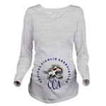 CCA LOGO Long Sleeve Maternity T-Shirt