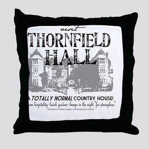 Visit Thornfield Hall Throw Pillow