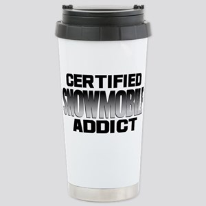 Certified Snowmobile A Stainless Steel Travel Mug