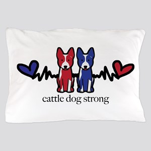 cattle dog strong Pillow Case