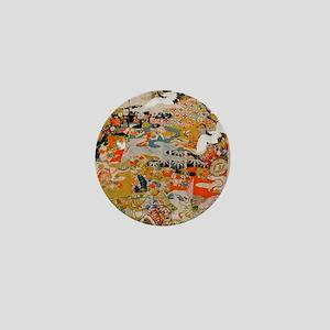LUXURIOUS ANTIQUE JAPANESE KIMONO FOR  Mini Button
