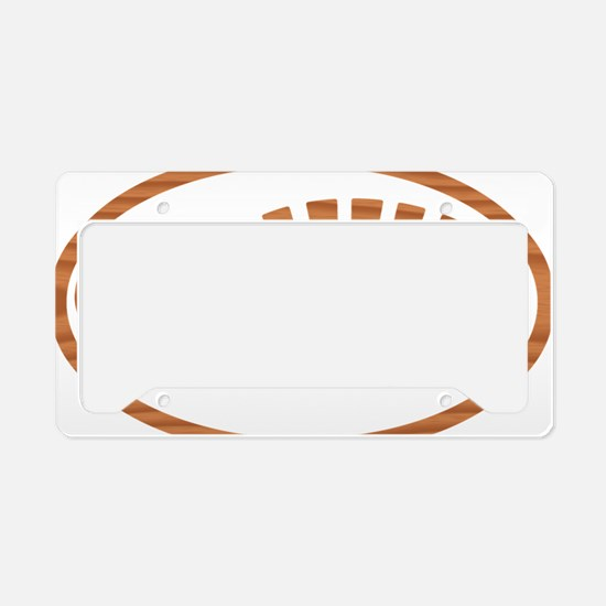Cypress Boot Oval License Plate Holder