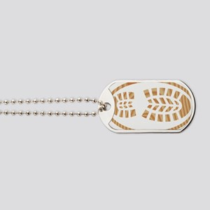 BOOT PINE Oval Dog Tags