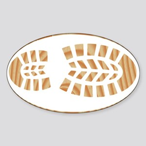 BOOT PINE Oval Sticker (Oval)