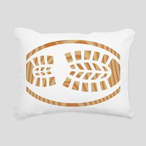 BOOT PINE Oval Rectangular Canvas Pillow