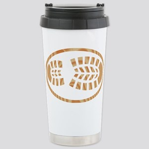 BOOT PINE Oval Stainless Steel Travel Mug